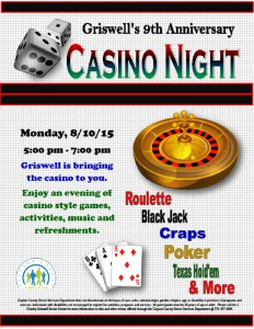 Griswell Casino Night