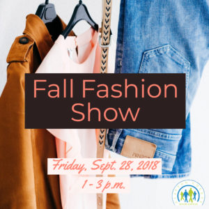 Fall Fashion Show @ Frank Bailey Senior Center