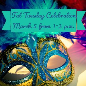 Fat Tuesday Celebration @ Frank Bailey Senior Center
