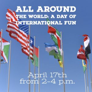 All Around the World: A Day of International Fun @ J. Charley Griswell Senior Center