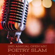 Second Annual Open Mic & Poetry Slam