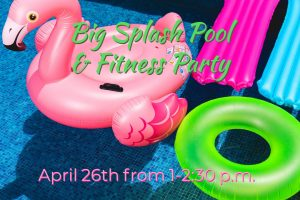 Big Splash Pool and Fitness Party! @ J. Charley Griswell Senior Center
