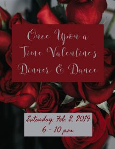 Once Upon a Time: Valentine's Dinner & Dance @ J. Charley Griswell Senior Center