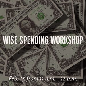 Wise Spending Workshop @ J. Charley Griswell Senior Center