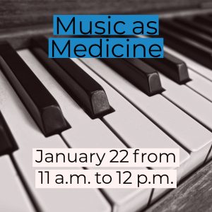 Music as Medicine @ Frank Bailey Senior Center