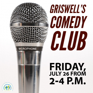 Comedy Club @ J. Charley Griswell Senior Center