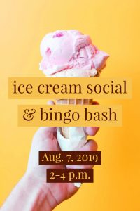 Ice Cream Social @ J. Charley Griswell Senior Center