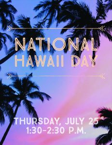 National Hawaii Day @ Frank Bailey Senior Center