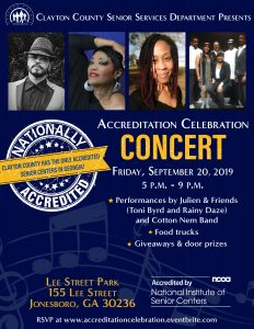 Accreditation Celebration Concert @ Lee Street Park