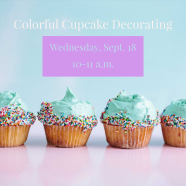 Colorful Cupcake Decorating