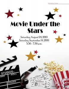 Movie Under the Stars @ Kinship Care Resource Center