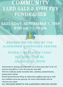 Community Yard Sale & Fish Fry Fundraiser @ Kinship Care Resource Center