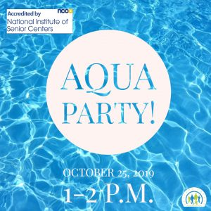 Aqua Party & Games @ J. Charley Griswell Senior Center