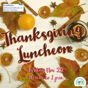 Thanksgiving Luncheon @ Kinship Care Resource Center