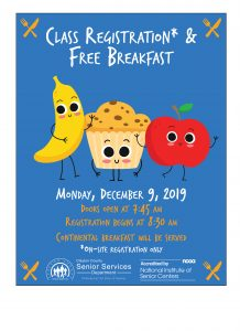 Class Registration and Free Breakfast