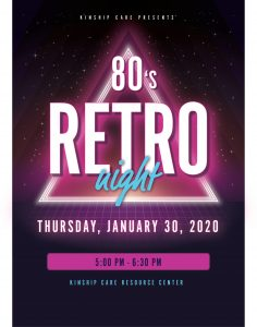 1980's Dance Party @ Kinship Care Resource Center