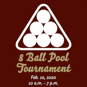 8 Ball Pool Tournament @ J. Charley Griswell Senior Center
