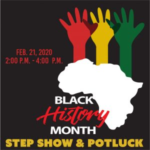 Black History Month: Step Show & Potluck @ J. Charley Griswell Senior Center