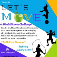 Let's Move Campaign with Kaiser Permanente